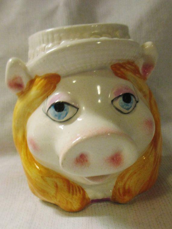Vtge Sigma the Tastesetter Ceramic Figural Miss by ThrillOfTheHunt, $8.95