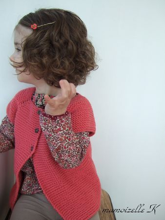 Someday, when I have time, I will re-learn French and knitting and make this little sweater
