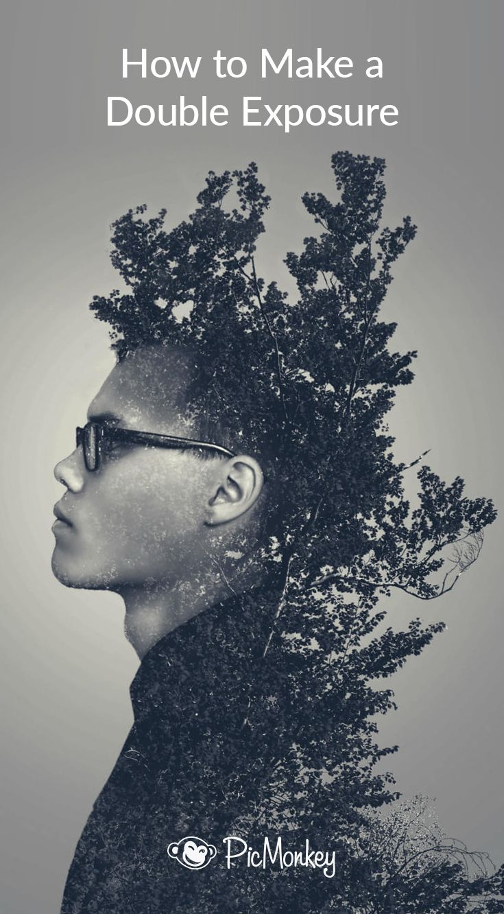 Double exposure, How to make and Tips on Pinterest