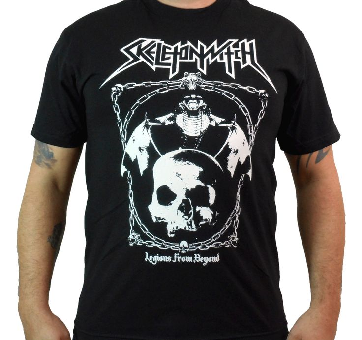 SKELETONWITCH (Legions From Beyond) Men's T-Shirt