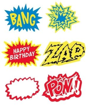 super hero printables super-hero-party by AnneM85