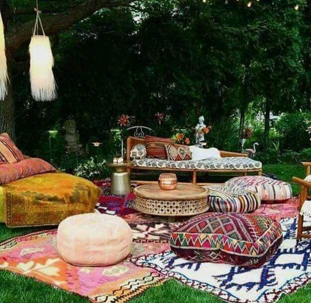 ☮ American Hippie Bohéme Boho Lifestyle ☮ Garden