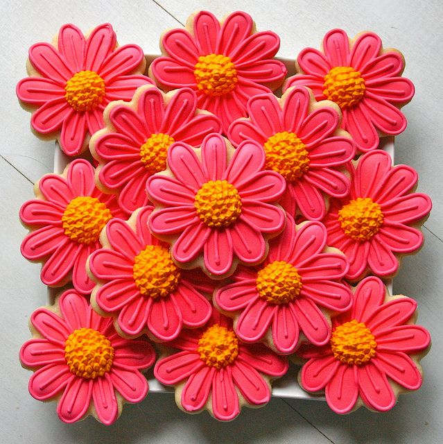 flower sugar cookies - Google Search