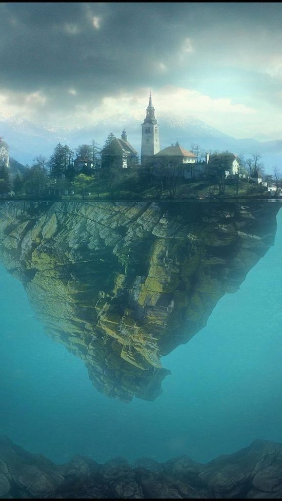 Lake Bled, Slovenia. Really want to go to Slovenia someday...