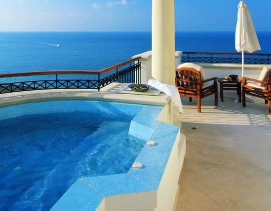 From a balcony at Anassa, Cyprus