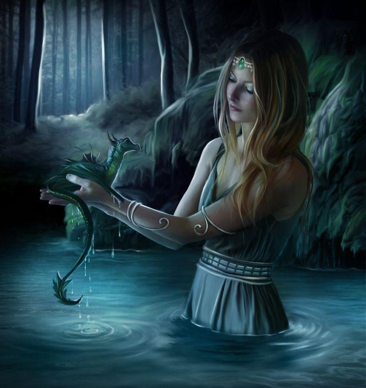 Dragon Bebe y Hada