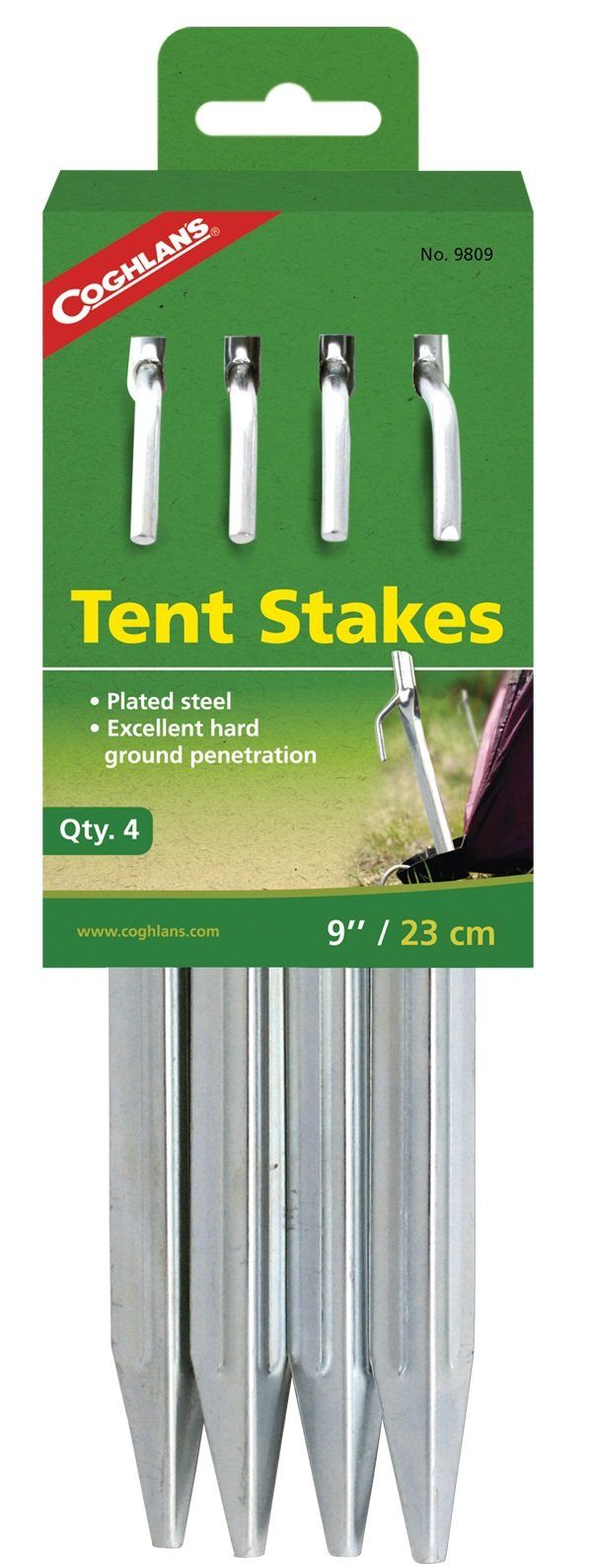 Coghlanu0027s 9809 Tent Stakes 9  ...  sc 1 st  Pinterest & The 25+ best Tent stakes ideas on Pinterest | Camping tricks ...