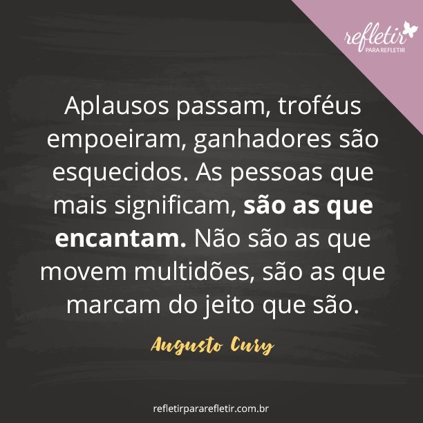Frases do Augusto Cury