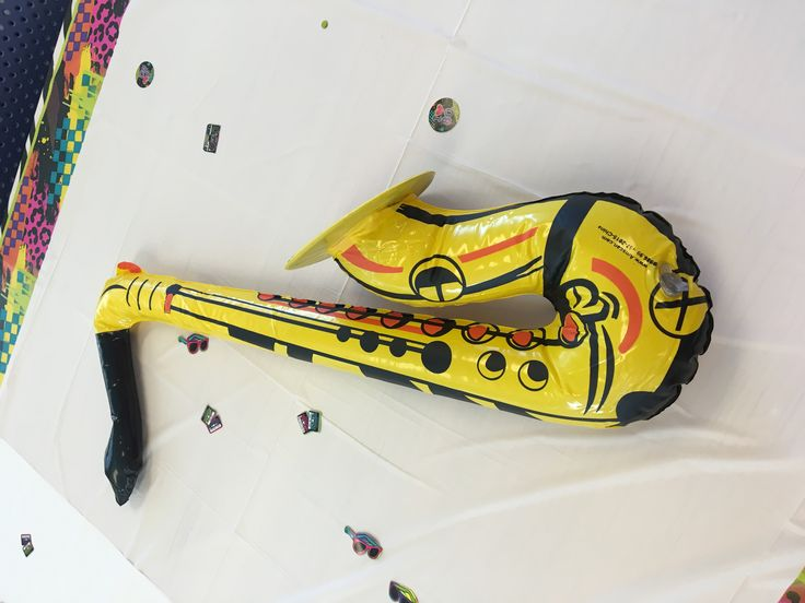 80's Blow-up Saxophone Prop