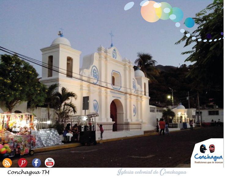 Iglesia colonial de Conchagua, data de 1693