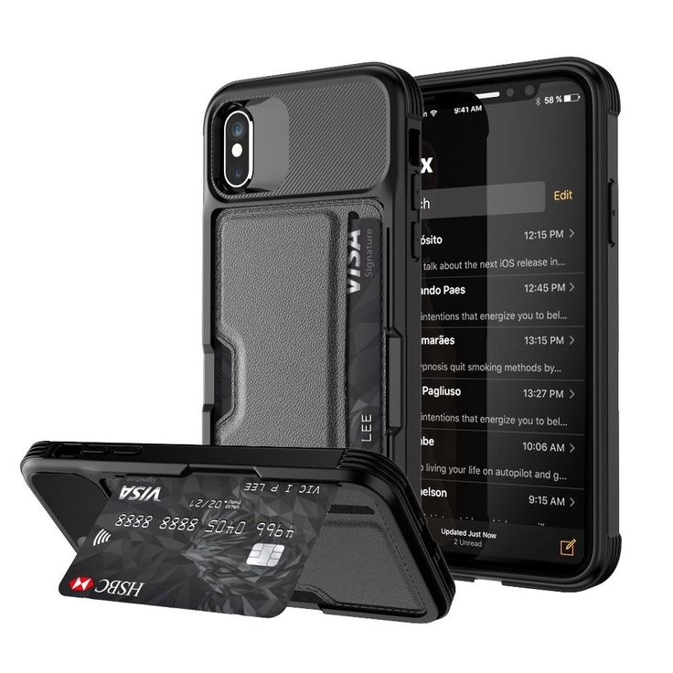 Bank card storage case for iphone 6 6 plus 6s