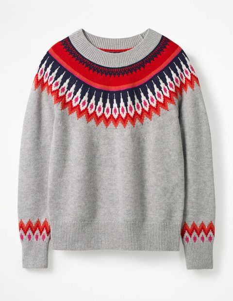 019e3f461e0 Agnes Fair Isle Sweater - Boden