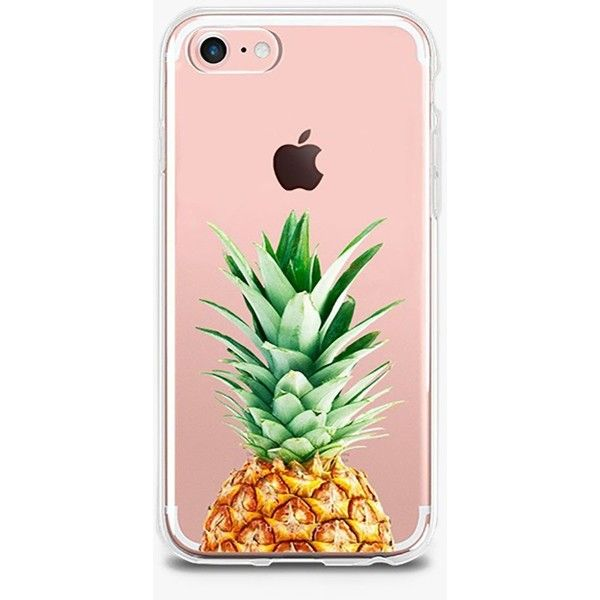 The Casery Pineapple Top Case ($28) ❤ liked on Polyvore featuring accessories, tech accessories, phone cases and phones
