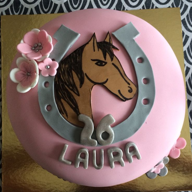 Horse Birthday Cake Gteau Cheval