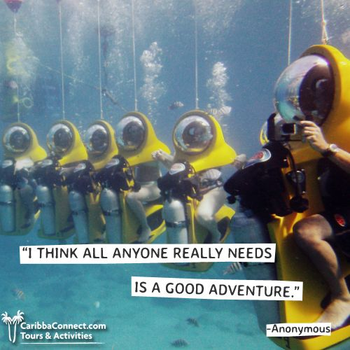 So what are you waiting for? Adventure awaits!  #travel #explore #adventure #CaribbaConnect