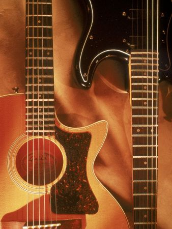Gitarren (Dekorative Kunst) Poster bei AllPosters.de