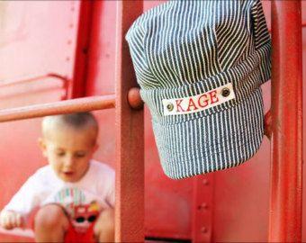 Niño niño regalo sombrero de Conductor de tren niño tren