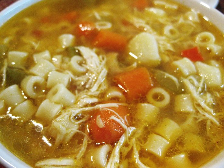 Recipe is based off of Mama Mandola's Spicy Sicilian Chicken Soup ...