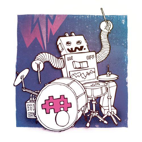 My tribute to dance music. cameronkimjonesillustration.tumblr.com