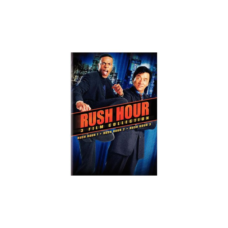 Rush Hour 3 Film Collection [2 Discs]