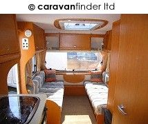 Used Bailey Ranger 540 S5 2008 touring caravan Image