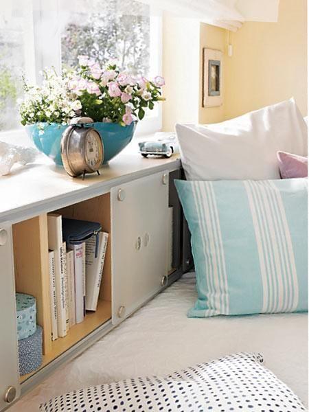 Die besten 25+ Betten für kleine Räume Ideen auf Pinterest Möbel - schlafzimmer f r kleine r ume