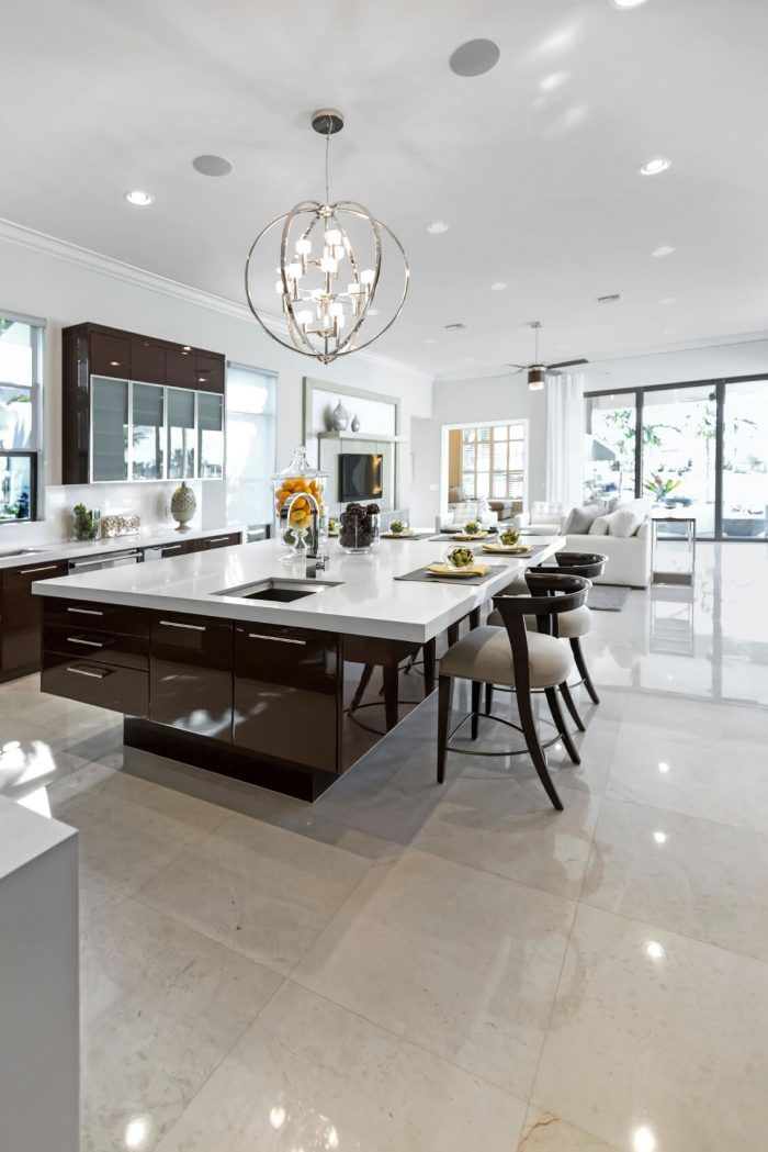 84 Custom Luxury Kitchen Island Ideas