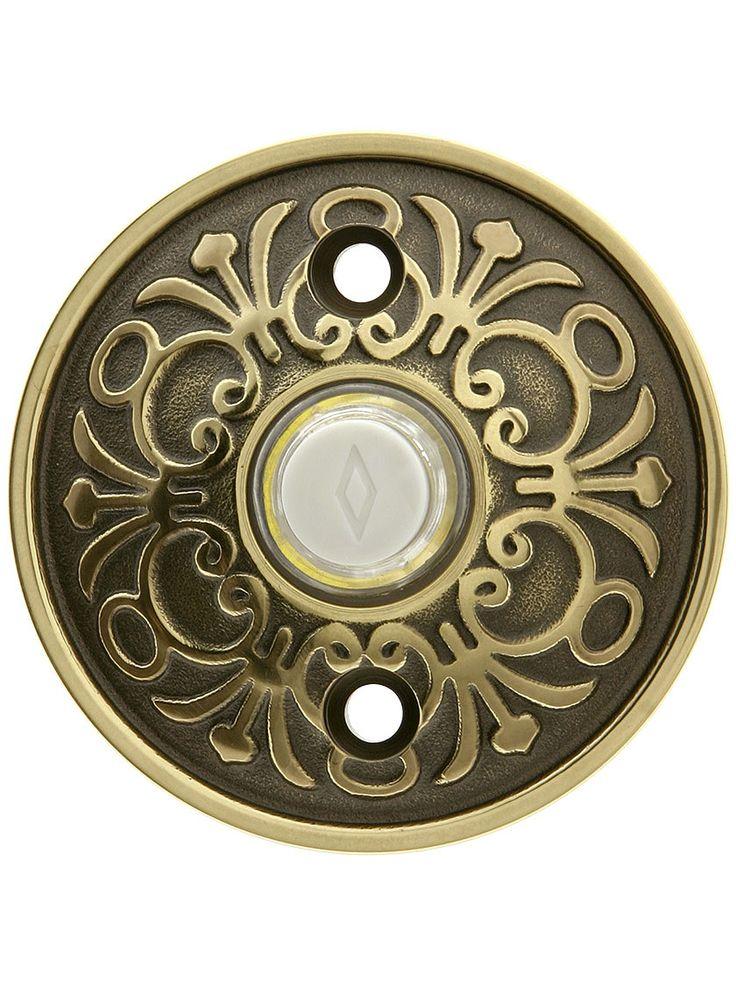 Brass Door Bell Button. Solid Brass Lancaster Style Buzzer Button - 420 Best Bells & Buzzers Images On Pinterest Boyfriends, Doors
