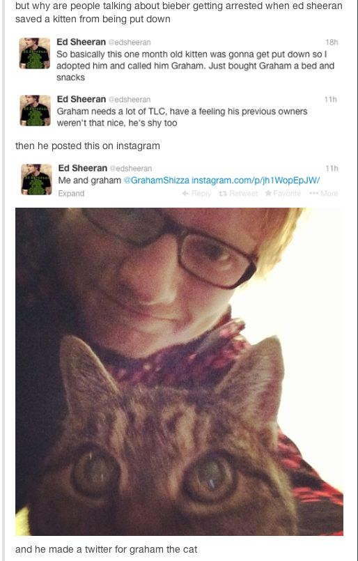 Lets just take a moment on how Ed Sheeran is perfect? If you would like to discuss his perfectness, then feel free to comment