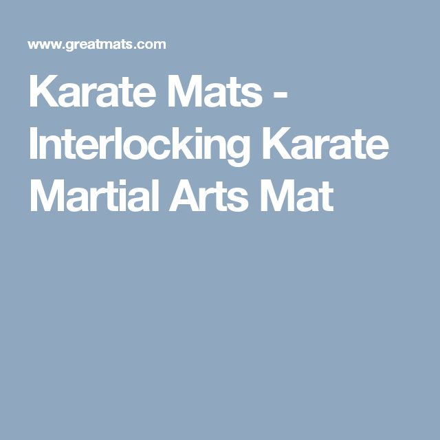 25 Best Ideas About Martial Arts Mats On Pinterest – Gym Kits