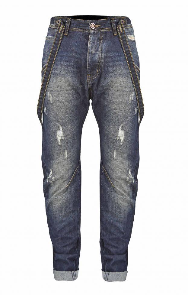Ανδρικό τζιν buggy με τιράντες | Άνδρας - Jeans/Denim | Metal Denim
