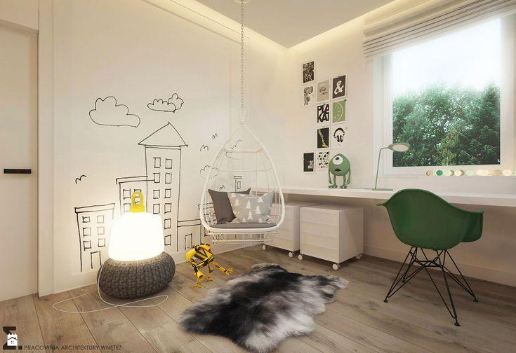 Pokój dziecka styl Skandynawski. Rozbudza wyobraźnię...  Zdjęcie od ELEMENTY - Pracownia Architektury Wnętrz