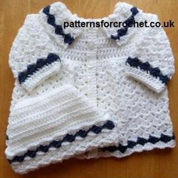 Mejores 144 imágenes de Child Crocheted Sets en Pinterest | Patrones ...