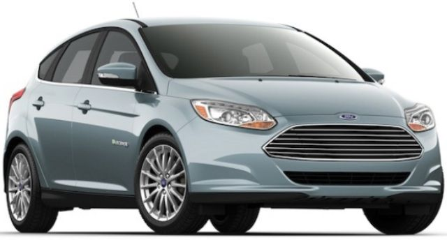 Geen 2014 update Ford Focus electric.