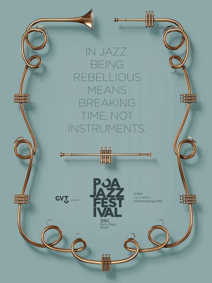 Poa Jazz Festival. by Dez Comunicação, Porto Alegre, Brazil.