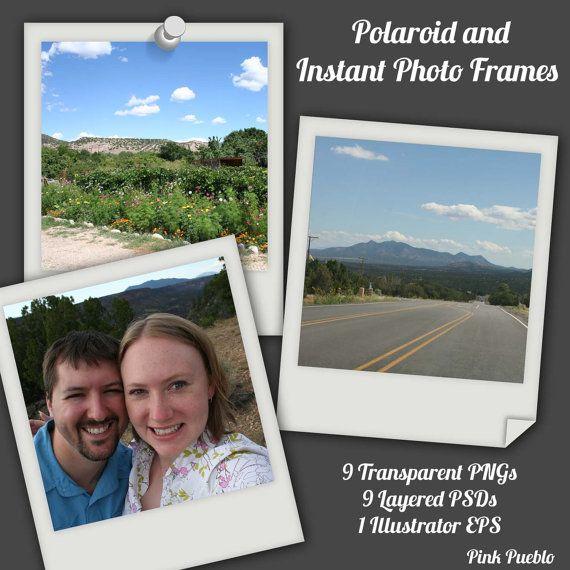 13 best Polaroid images on Pinterest Photo ideas, Polaroid frame - polaroid template