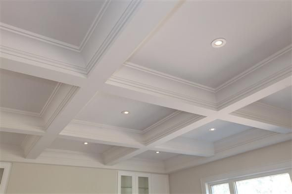 Nuteck Homes Waffled Ceiling