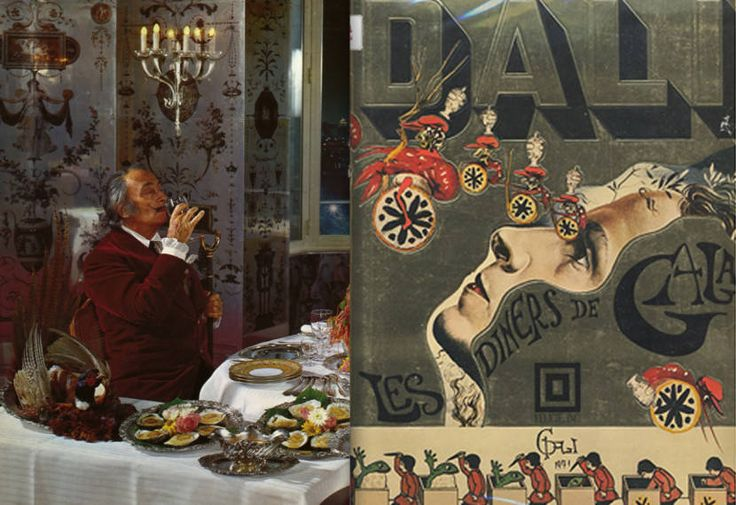 Featured Image for Dali authored a cookbook in 1973 and it's as surreal as it gets