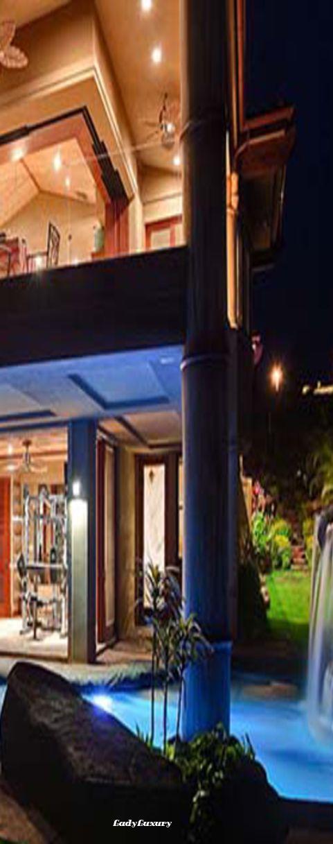 Luxury Beach Villa In Hawaii Lld Ladyluxurydesigns