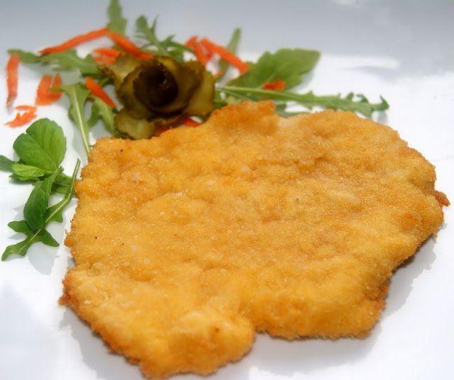"""Buniabaje w kuchni: ,,Pływający """" sznycel drobiowy"""