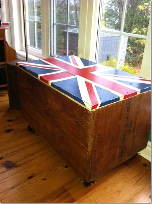 Union Jack @ Renew Create Restore #paint #unionjack