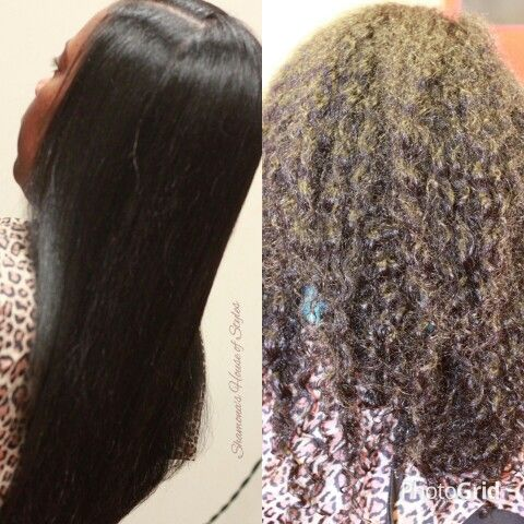 A Blowout On Natural Hair