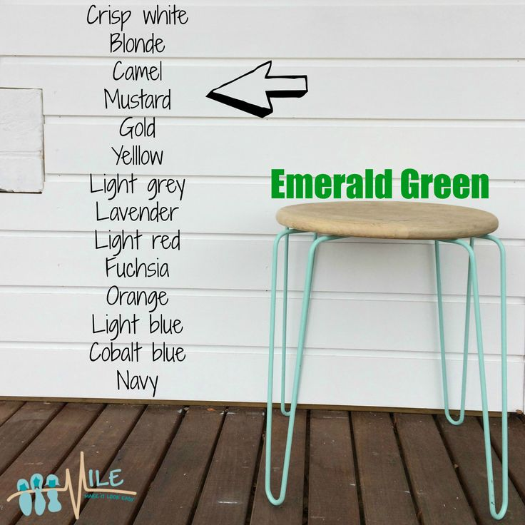 Emerald Green goes with...