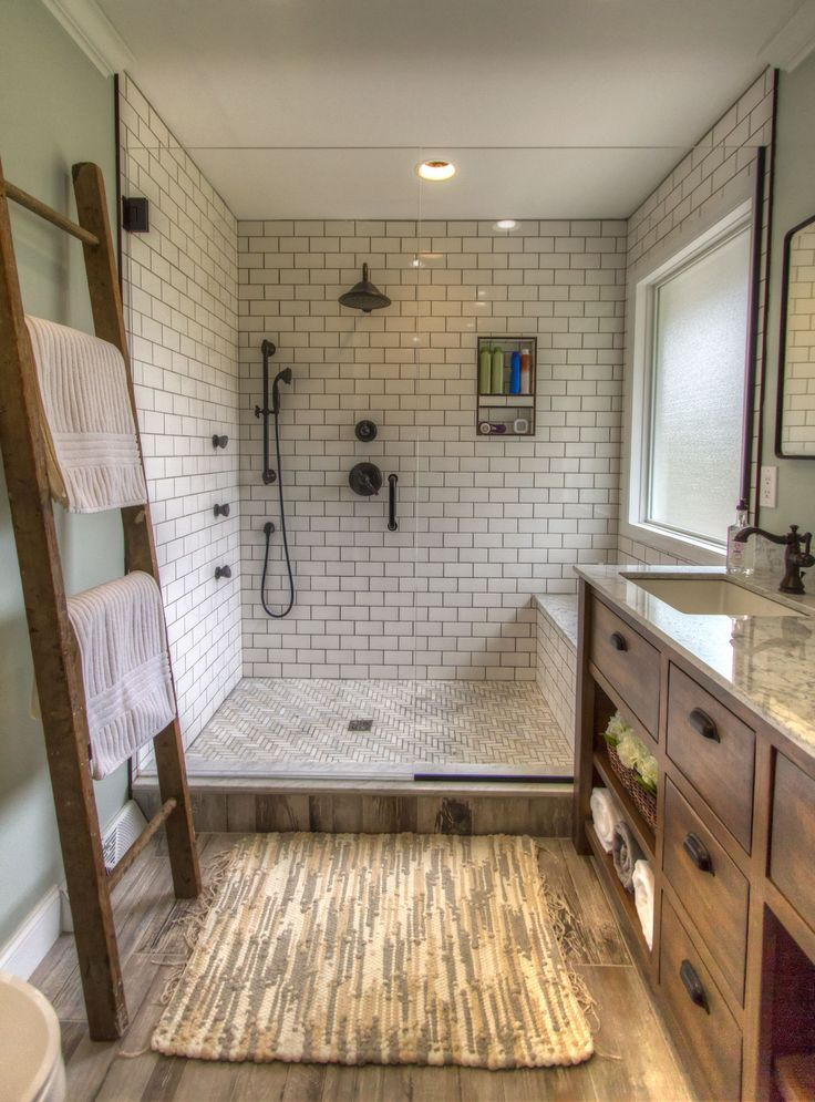 Toftrees | Wood look tile bathroom, Bathrooms remodel ...