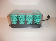 Clairol Lock n Roll Hot Rollers Spoolies BT-1 Vintage Tight Spiral Curls Pageant
