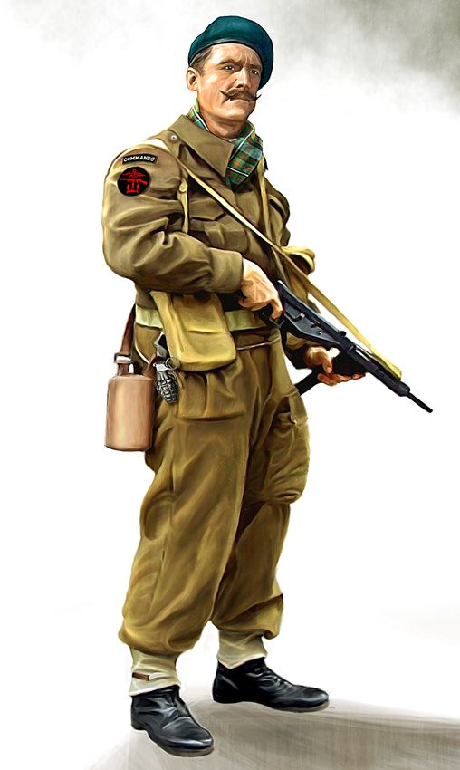 British commando by anderpeich on DeviantArt