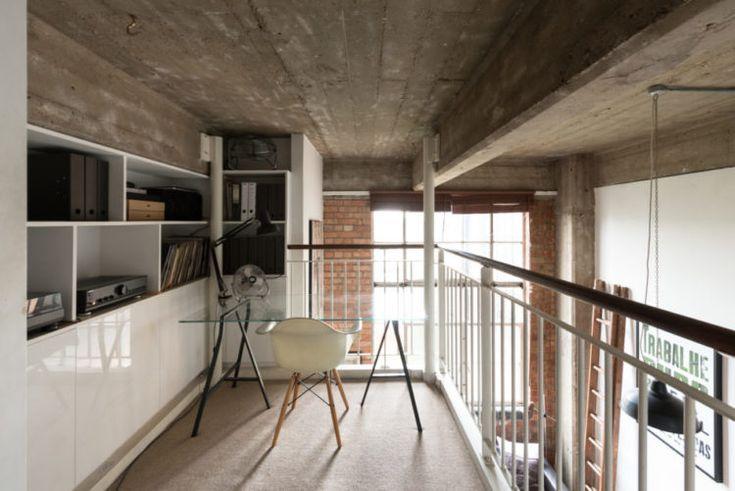 mezzanine workspace