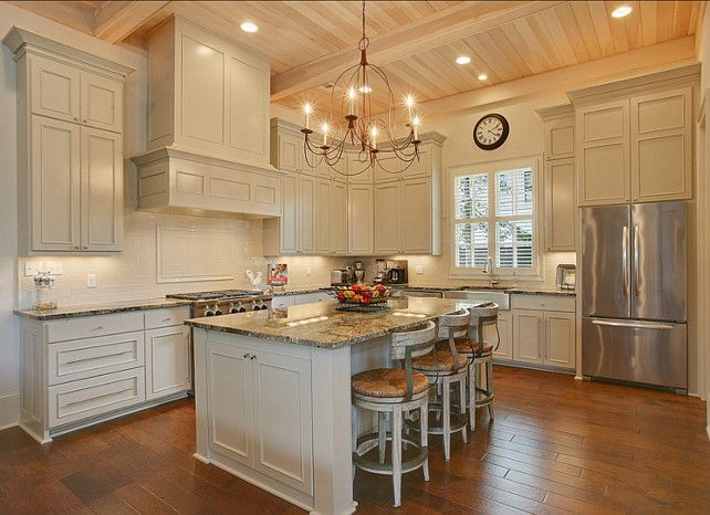 1000 Images About Kitchens Double Stacked Cabinets On Pinterest Countertops Gray Kitchens