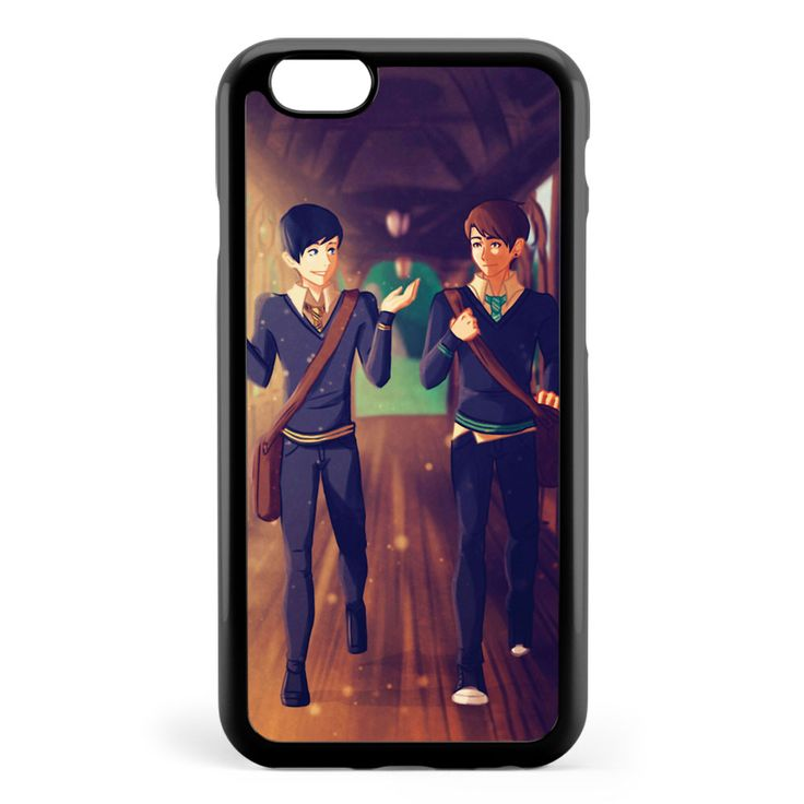 Dan and Phil Around Hogwarts Apple iPhone 6 / iPhone 6s Case Cover ISVA876