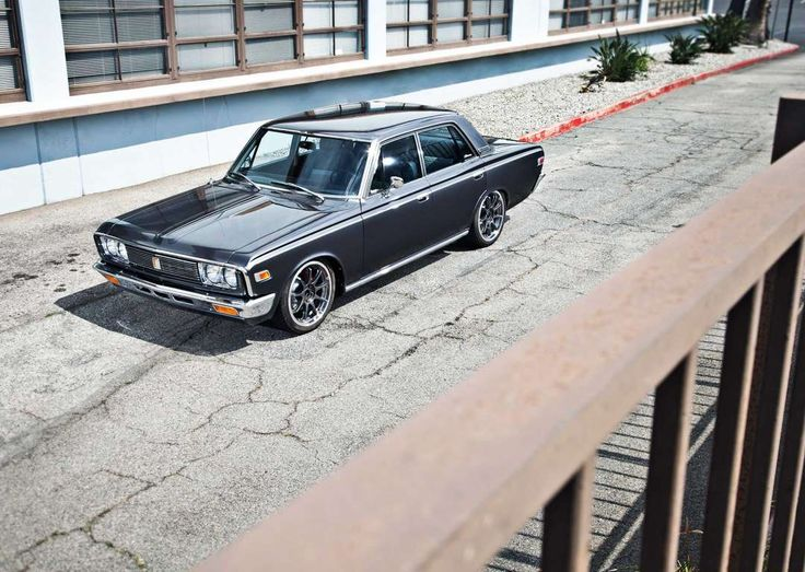 1970 Toyota Crown Front View   Provided By SuperStreetOnline